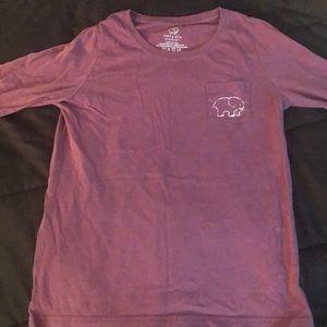 Authentic Ivory Ella Maroon Long Sleeve Shirt